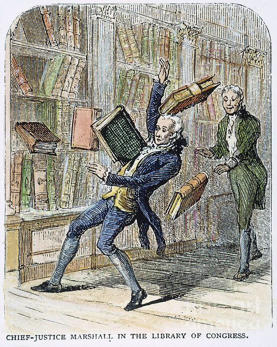John Marshall (1755-1835) Print by Granger