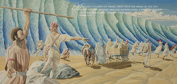 James Robinson - 125 Moses Parts the Red Sea
