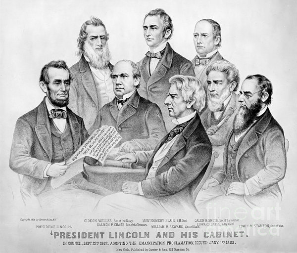 Emancipation Proclamation Print by Granger