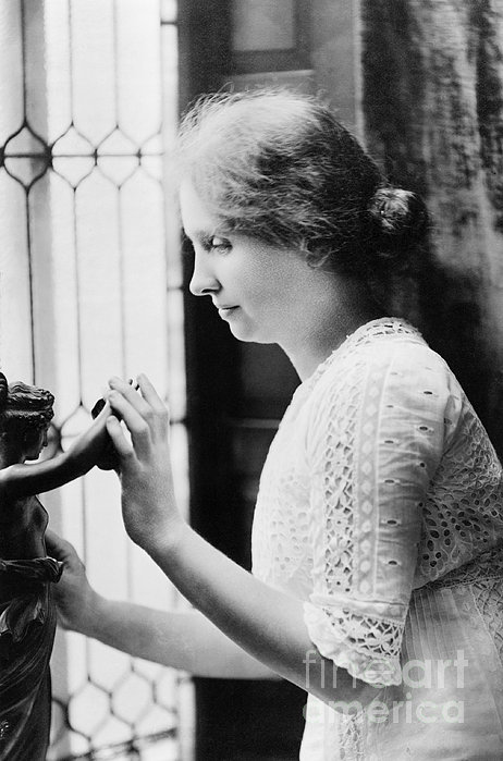 Helen Adams Keller Print by Granger