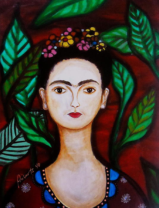 Frida Kahlo Print by Pristine Cartera Turkus