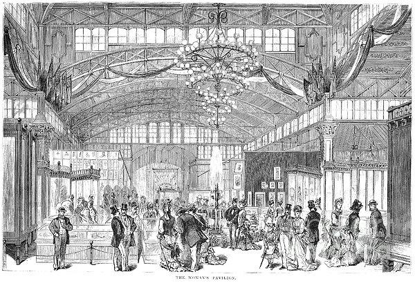 Centennial Fair, 1876 Print by Granger