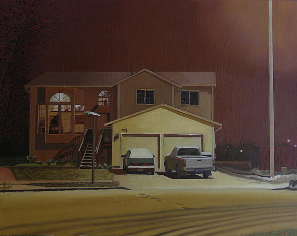 15698 168th Ave. S.e. Print by Thu Nguyen