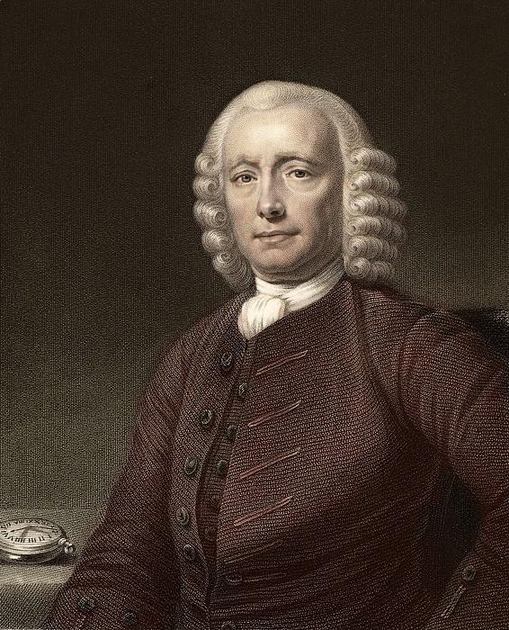 1767 John Harrison & Marine Timekeeper H4 Print by Paul D Stewart