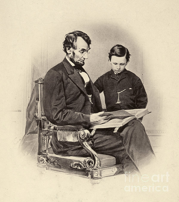 Abraham Lincoln (1809-1865) Print by Granger