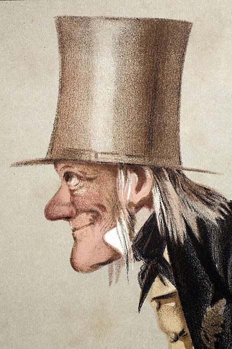 1873 Richard Owen Vanity Fair Cu Portrait Print by Paul D Stewart