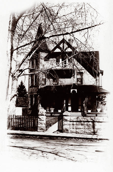 1900 Home Print by Marcin and Dawid Witukiewicz