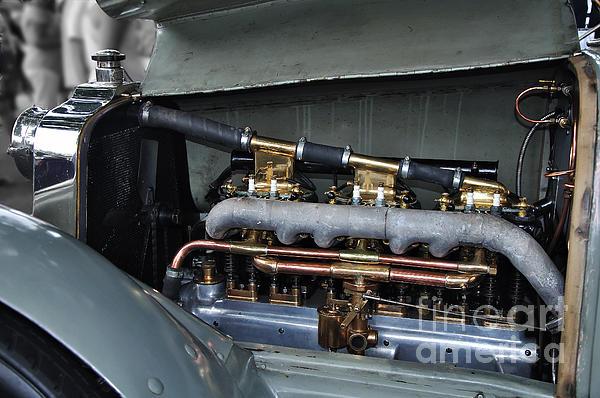 Kaye Menner - 1910 Talbot Motor - Gas