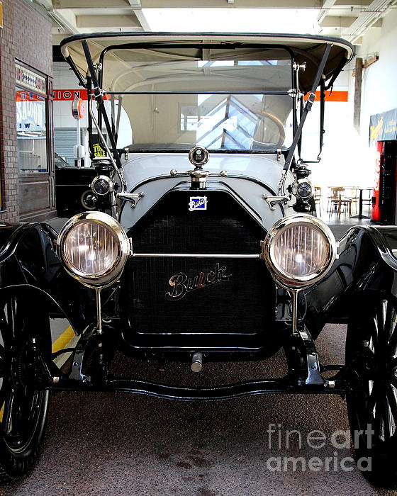 1914 Buick Touring Print by Wingsdomain Art and Photography