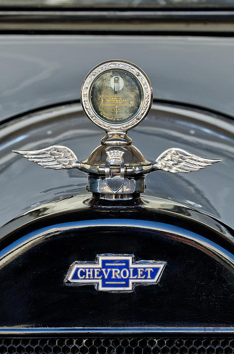 1915 Chevrolet Touring Hood Ornament 2 Print by Jill Reger