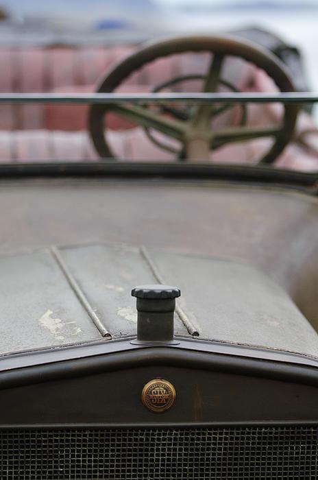 1916 Winton Model 33 Touring Hood Ornament Print by Jill Reger