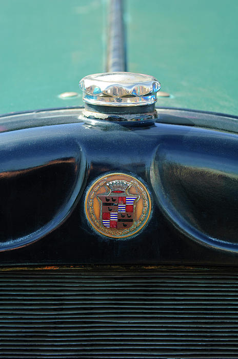 1925 Cadillac Hood Ornament And Emblem Print by Jill Reger