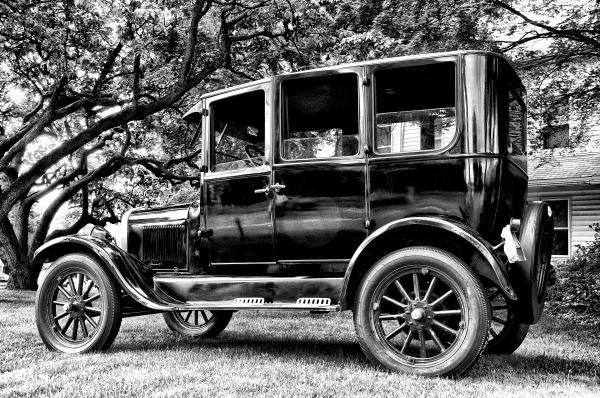 1926 Ford Model T Print by Bill Cannon