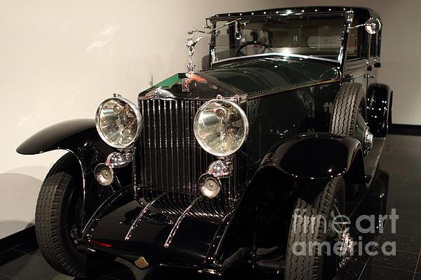 1927 Rolls Royce Phantom 1 Towncar - 7d17195 Print by Wingsdomain Art and Photography