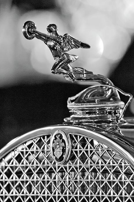 1931 Packard Convertible Victoria Hood Ornament 2 Print by Jill Reger