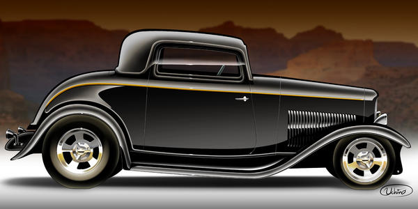 Alexandre Uchino - 1932 Ford Coupe