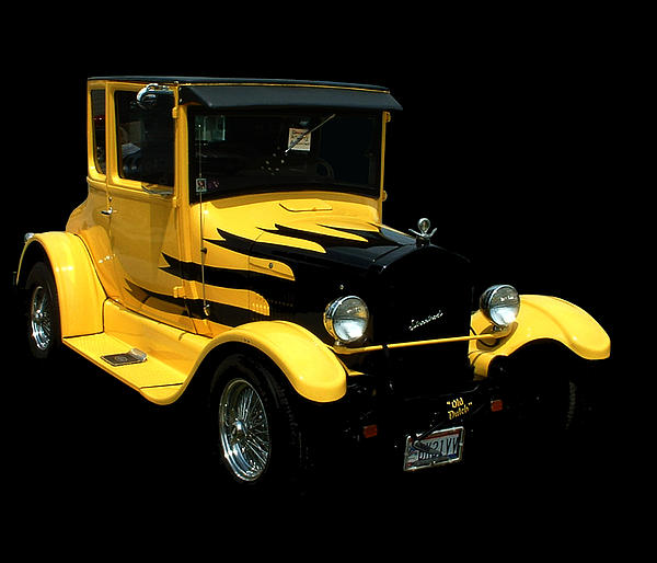 1933 Model T Ford Print by Kathleen Stephens