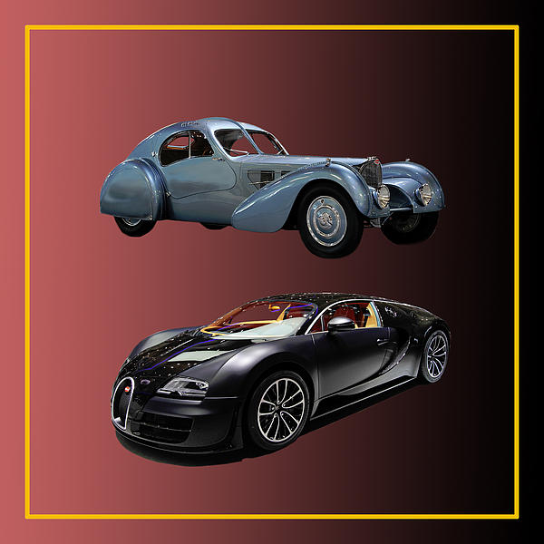1936 Bugatti 2010 Bugatti Print by Jack Pumphrey