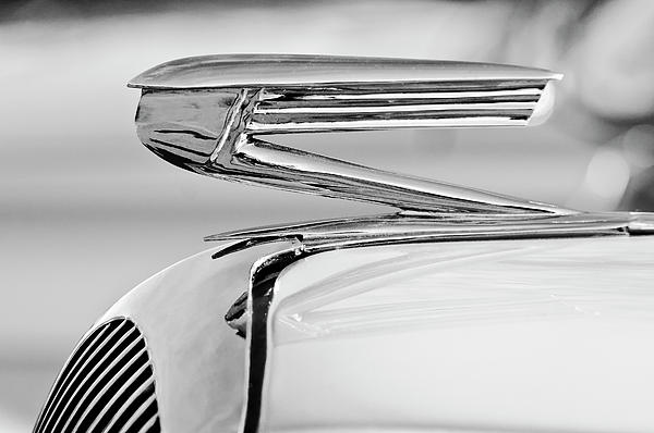 1936 Buick 40 Series Hood Ornament 2 Print by Jill Reger