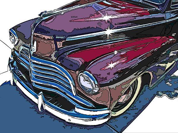 1946 Chevrolet Front Study Print by Samuel Sheats