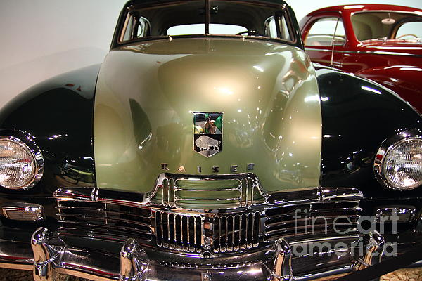 1947 Kaiser Print by Wingsdomain Art and Photography