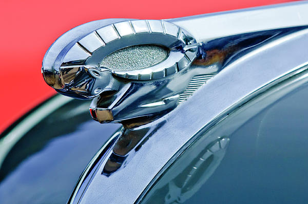 1950 Dodge Coronet Hood Ornament Photograph