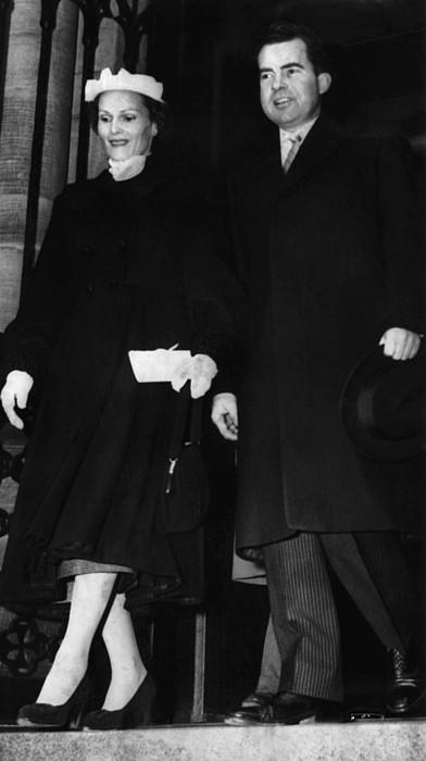 1953 Us Presidency.  Second Lady Print by Everett