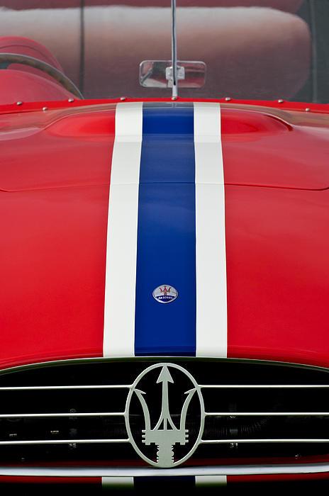 1956 Maserati 350 S Photograph