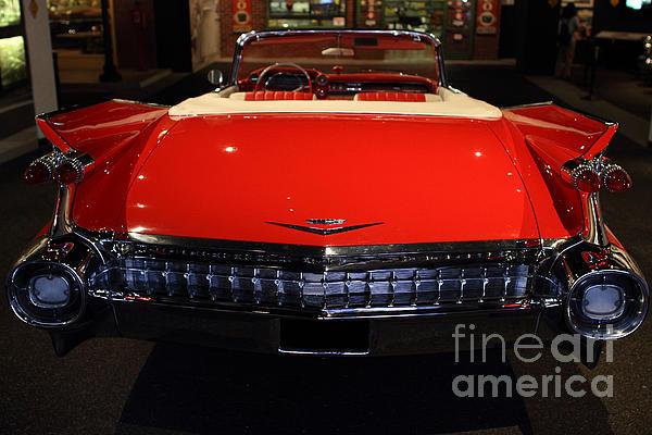 1959 Cadillac Convertible - 7d17377 Print by Wingsdomain Art and Photography