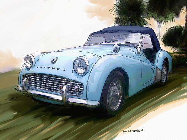 RG McMahon - 1960 Triumph TR3