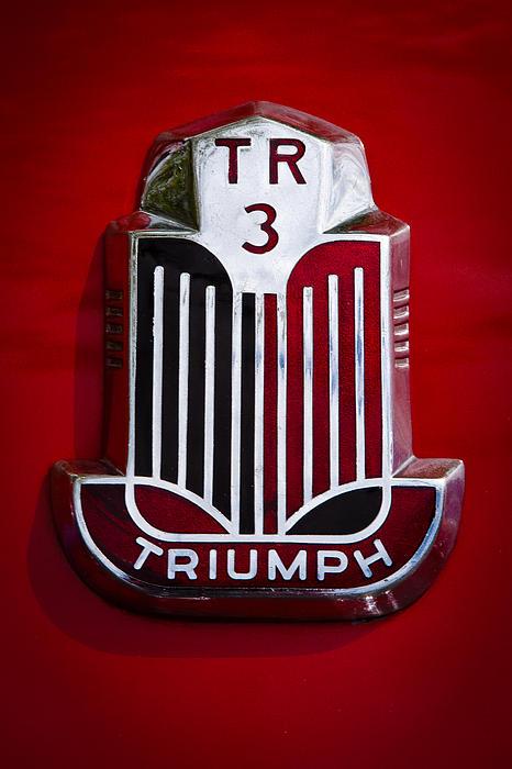 1960 Triumph Tr3a Print by David Patterson