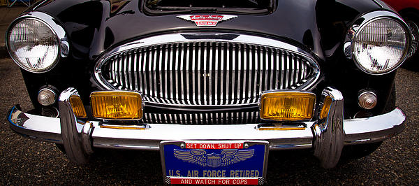 1962 Austin Healey 3000 Mkii Print by David Patterson