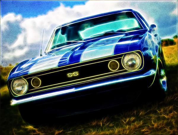 1967 Chevrolet Camaro Ss Print by Phil 'motography' Clark