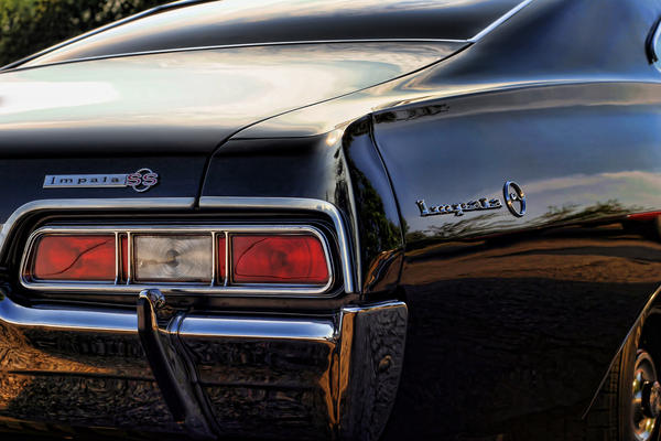 1967 Chevy Impala Ss Print by Gordon Dean II