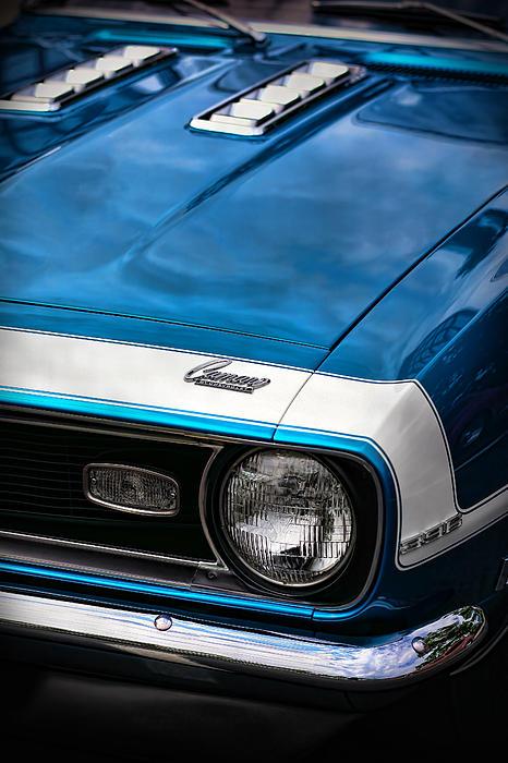 1968 Chevy Camaro Ss 396 Print by Gordon Dean II