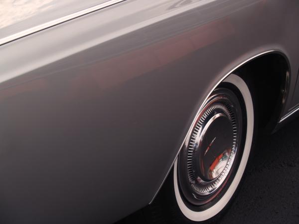 1968 Vintage Lincoln Sedan Fender Print by Anna Lisa Yoder