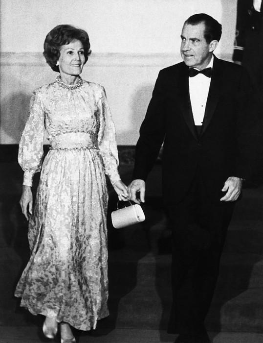 1969 Us Presidency.  First Lady Print by Everett