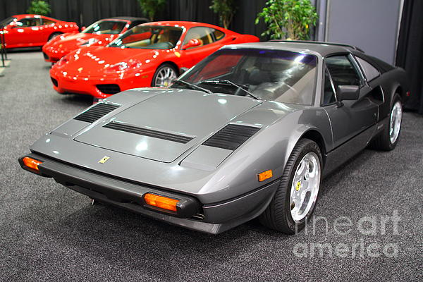 1984 Ferrari 308 Gts Qv . 7d9372 Print by Wingsdomain Art and Photography