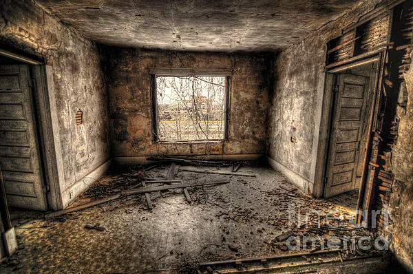 Abandoned Print by Miguel Celis