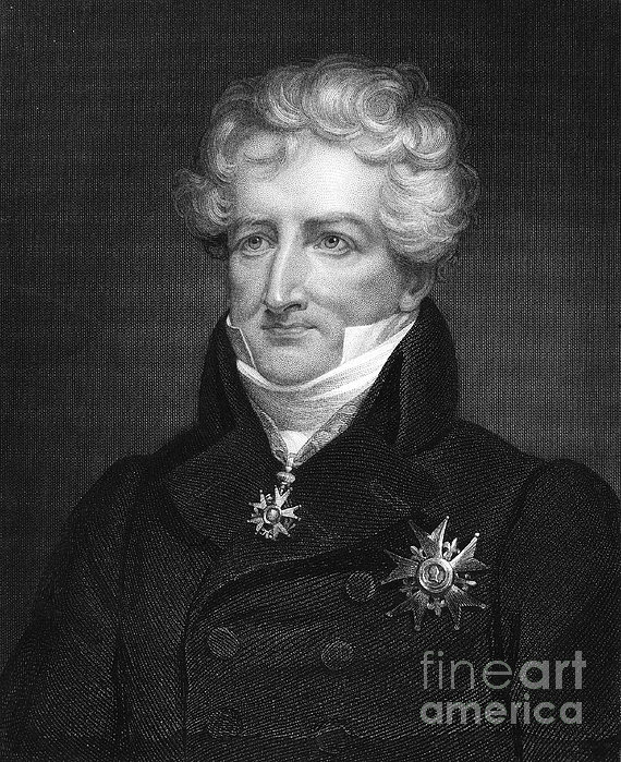 Baron Georges Cuvier Print by Granger