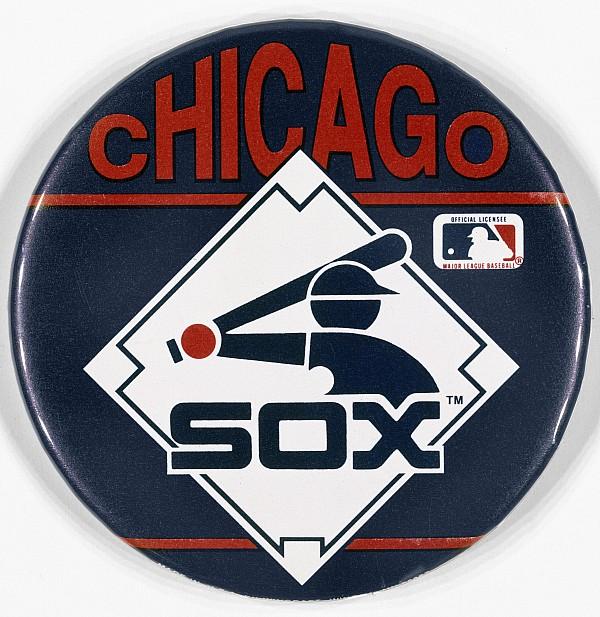 Baseball Button Print by Granger