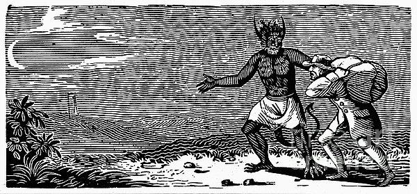 Bewick: Devil Print by Granger