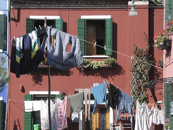 Burano. Venice Print by Bernard Jaubert