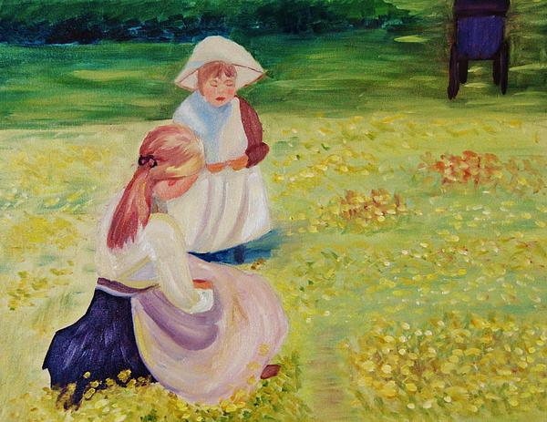 Marilyn Campbell - Buttercups after Helen McNicholl