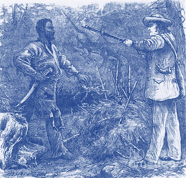 Capture Of Nat Turner, American Rebel Print by Photo Researchers