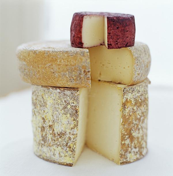 Cheese Selection Print by David Munns