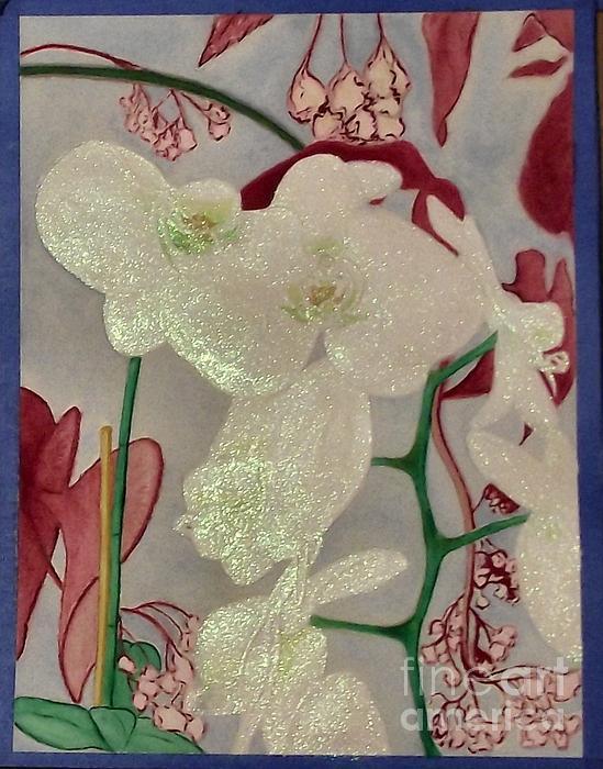Melissa Boneau - Christmas Bunny Orchids