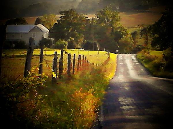 Michael L Kimble - Country Road