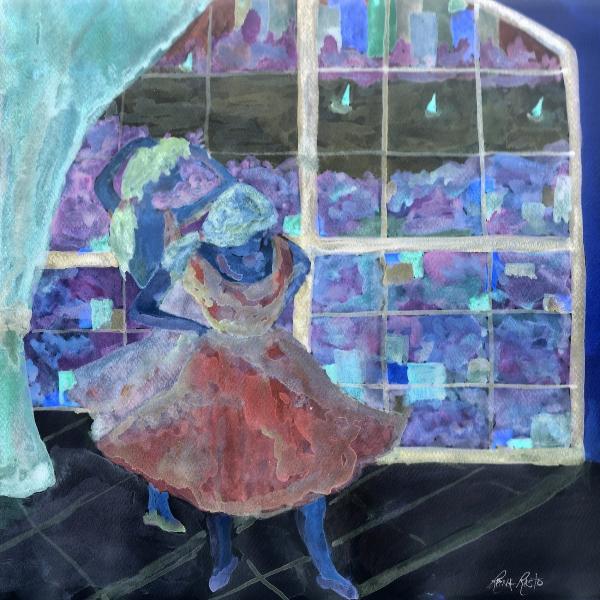 Dansarinas Print by Reina Resto