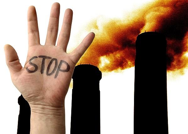 Environmental Protest Print by Victor De Schwanberg